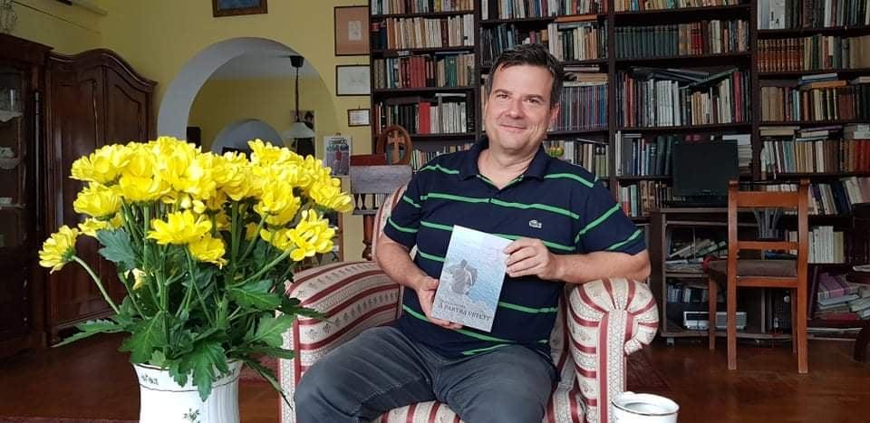 Sóskuti Zoltán, rákoskeresztúri református lelkész regényének ünnepélyes könyvbemutatója pénteken este fél nyolckor a Vigyázó Sándor Művelődési Házban.